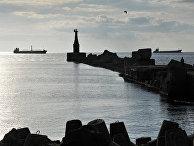 Вид на акваторию Невельского залива на юго-западном побережье острова Сахалин