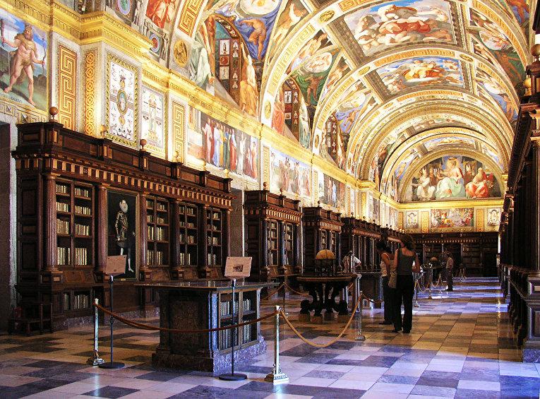 Королевская библиотека Эскориала