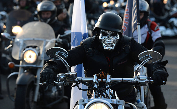 Открытие мотоциклетного сезона в Москве