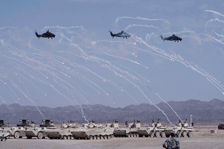Церемония открытия международных армейских игр в Китае