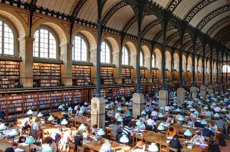 Библиотека Святой Женевьевы в Париже