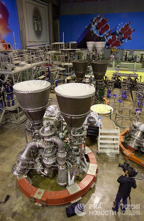 Российские ракетные двигатели РД-180