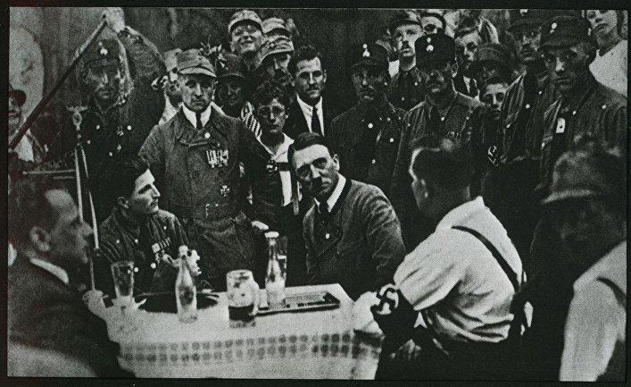 Собрание НСДАП в Мюнхене