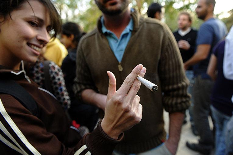 Курение марихуаны в Израиле