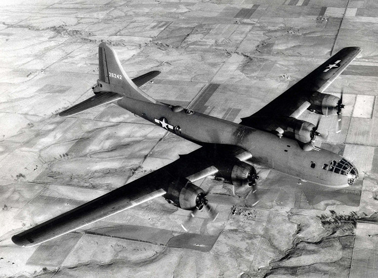 """Американский бомбардировщик B-29 """"Суперкрепость"""""""