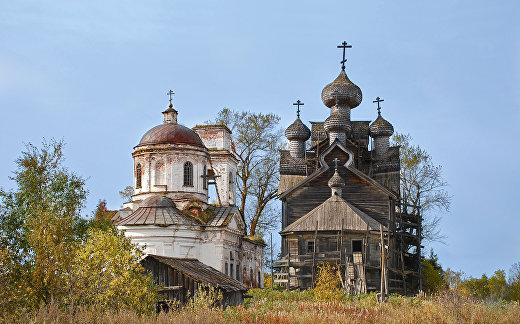 Храмовый комплекс (Вологодская область, Вытегра, село Палтога)