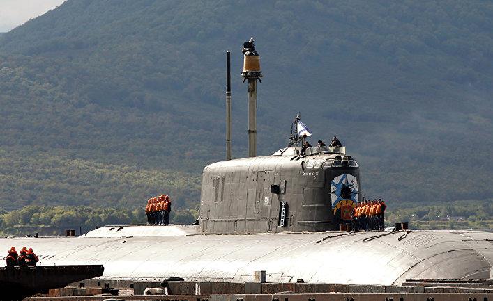 """Атомная подводная лодка проекта 949А """"Антей"""" """"Тверь"""" в Вилючинске"""