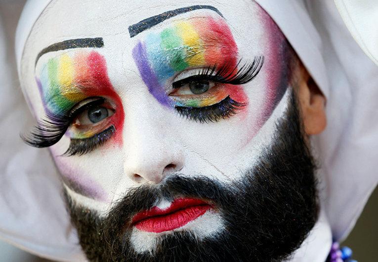 Участник открытия «Гей-игр»
