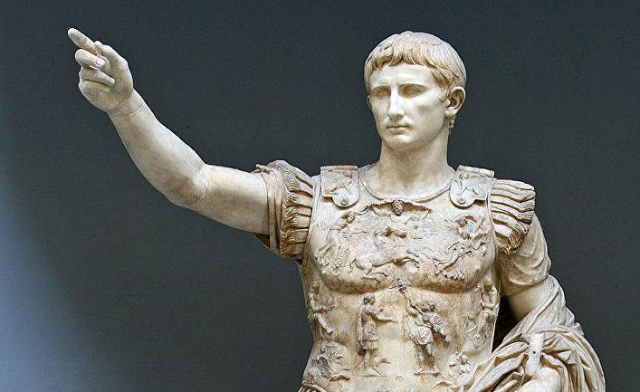 Римский император Октавиан Август
