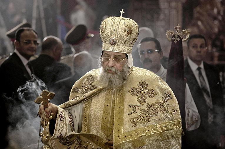Патриарх коптской церкви Тавадрос II