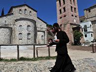 Кафедральный собор Успения Пресвятой Богородицы (храм Протата) в городе Карее