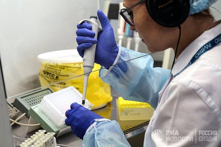 """Лаборатория микробиологии в медицинском лабораторном комплексе """"Инвитро"""""""
