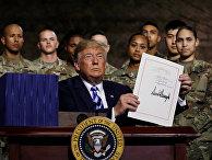 Президент США Дональд Трамп подписал закон об оборонном бюджете на 2019 год