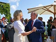 Президент РФ В. Путин посетил Австрию