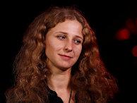 Мария Алехина во время интервью в Эдинбурге