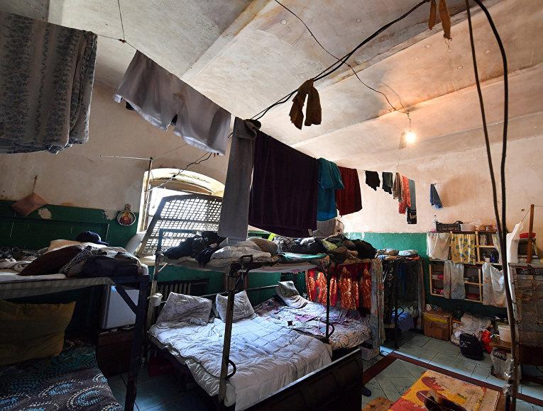 Двадцатиместная тюремная камера в Лукьяновской тюрьме в Киеве