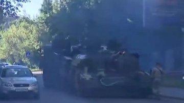 Новейший украинский танк заглох и задымился