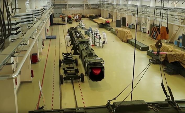 """Крылатая ракета с ядерным двигателем """"Буревестник"""""""