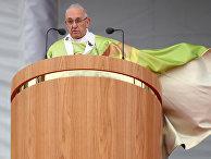 Папа Римский Франциск в Дублине, Ирландия