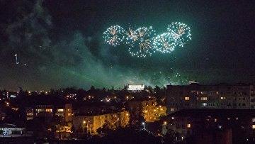 Празднование 10-летней годовщины признания Россией независимости Южной Осетии
