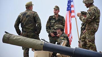 Церемония открытия военных учений Noble Partner в Грузии