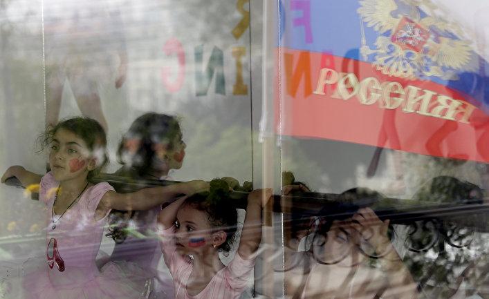 Балетный класс в российско-ливанском культурном центре