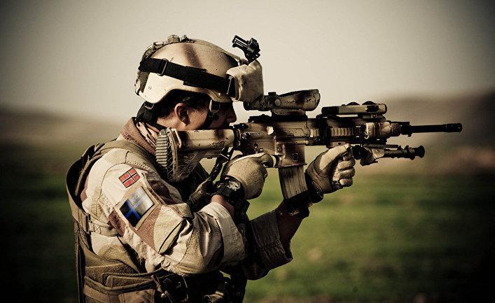 Норвежский солдат НАТО