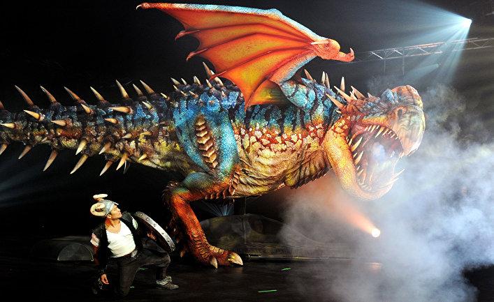 Театрализованное представление в Мельбурне, Австрия