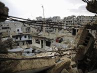 Руины города Хомс, Сирия
