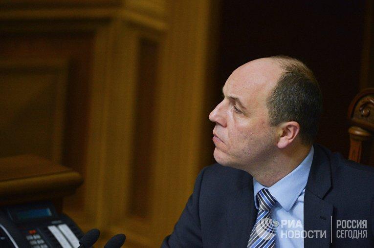 Первый заместитель председателя Верховной рады Андрей Парубий