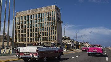 Здание посольства Соединенных Штатов в Гаване, Куба