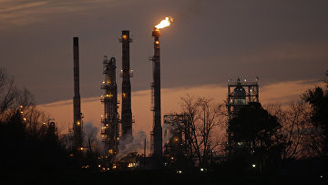 Нефтеперерабатывающий завод Exxon Mobil