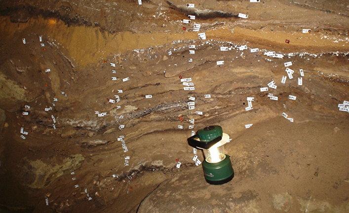 Археологические раскопки в пещере Бломбос в ЮАР
