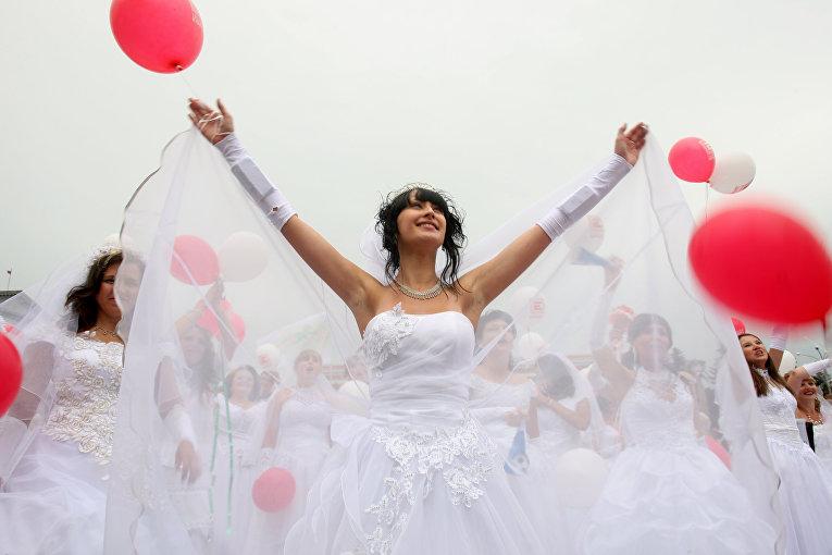Парад невест в Курске