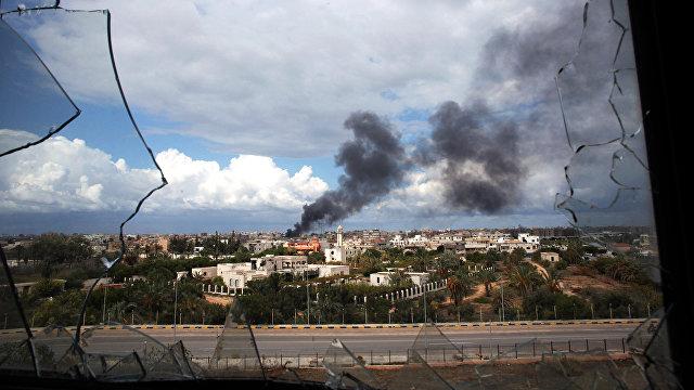 Al Arabiya (ОАЭ): семь турецких военных погибли в результате удара Ливийской национальной армии по базе Митига