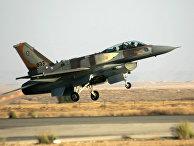 Израильский истребитель F-16