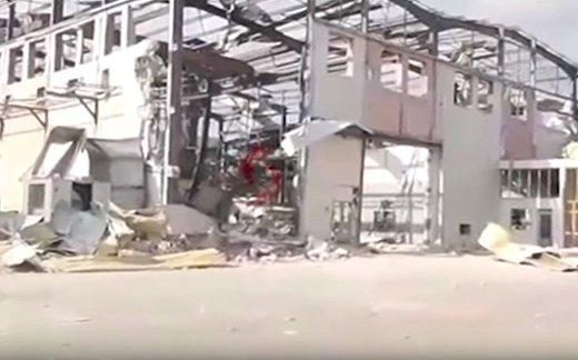 ВВС Израиля разбомбили склад оружия в Сирии