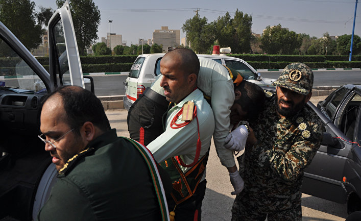 Теракт на военном параде в Иране. 22 сентября 2018