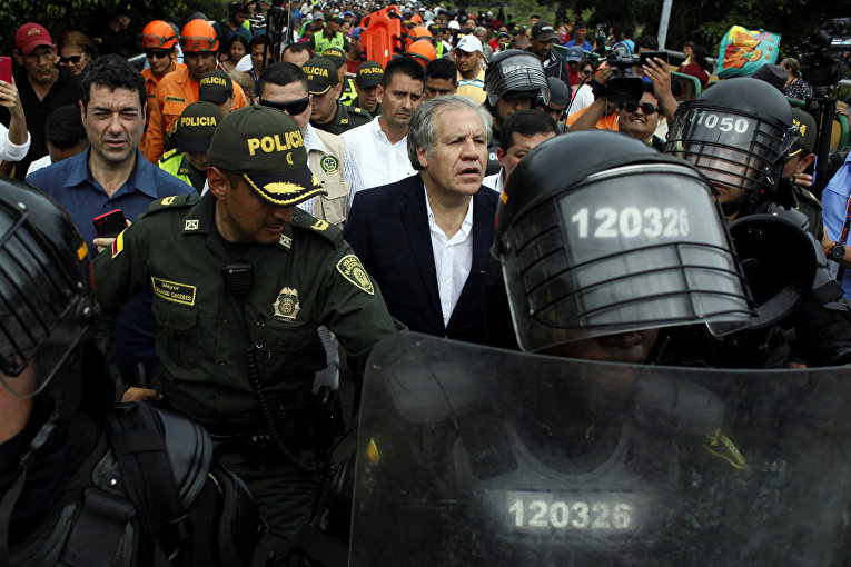 Генеральный секретарь Организации Американских Государств Луис Альмагро