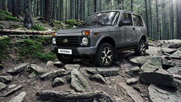 Автомобиль Lada 4x4 Black Edition