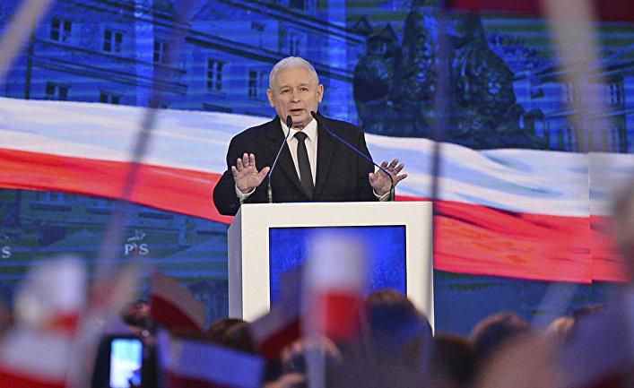 Лидер правящей партии «Право и справедливость» Ярослав Качиньский