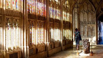 Витраж Глостерского собора, Великобритания