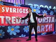 Йимми Окессон, лидер Шведских демократов