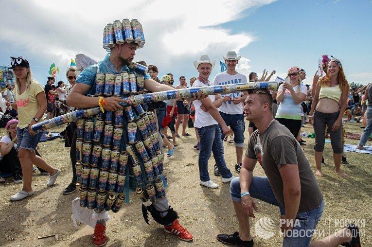 """Музыкальный фестиваль """"Нашествие"""""""