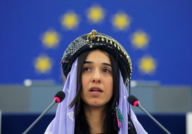 Иракская правозащитница Надя Мурад