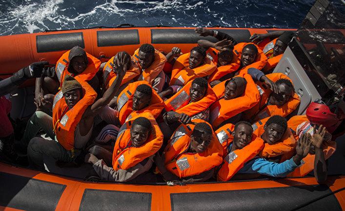 Африканские беженцы