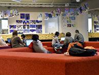 Ученики начальной школы в Хельсинки