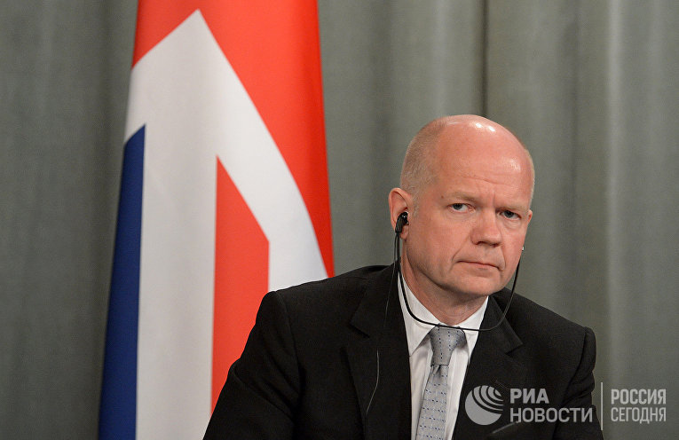 Министр иностранных дел Великобритании Уильям Хейг