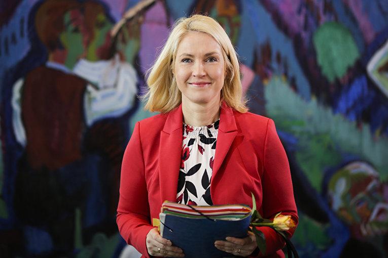 Мануэла Швезиг, премьер-министр немецкой федеральной земли Мекленбург-Передняя Померания