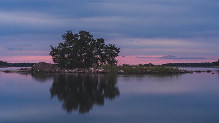 Частный остров в финских шхерах
